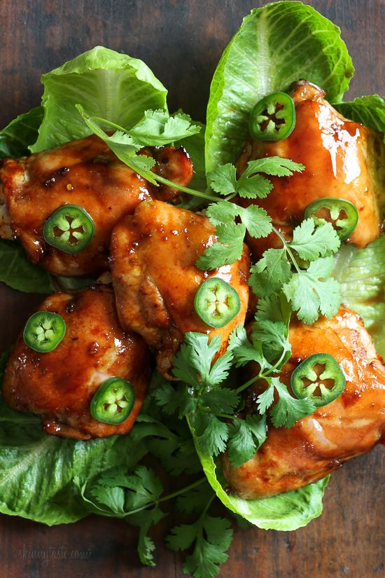 Cool Mom Eats weekly meal plan: Sticky Tamarind Chicken Lettuce Cups at Skinnytaste from the new cookbook, Dinner: Changing the Game, by Melissa Clark
