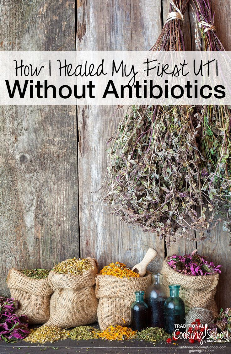 How I Healed My First UTI Without Antibiotics   My first UTI arrived with pain, blood, and tears. Here are the natural UTI remedies I successfully used (hint: coconut oil, essential oils, and probiotics!), how I healed it fast at home, and what I learned about alternative healing!   TraditionalCookingSchool.com