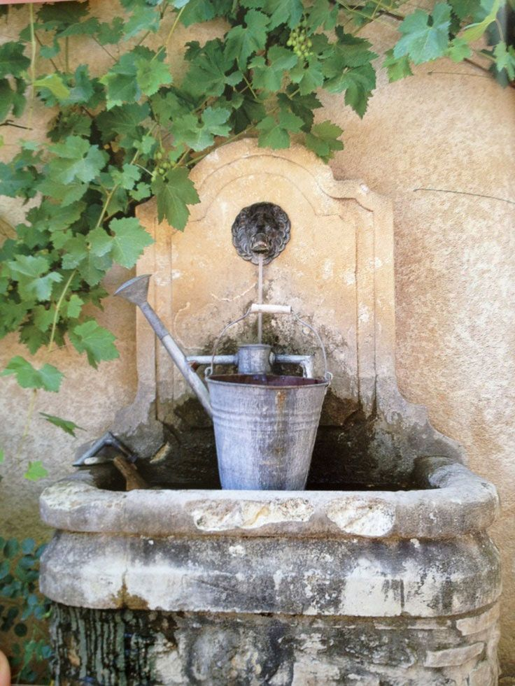 Old stone fountain ~ France