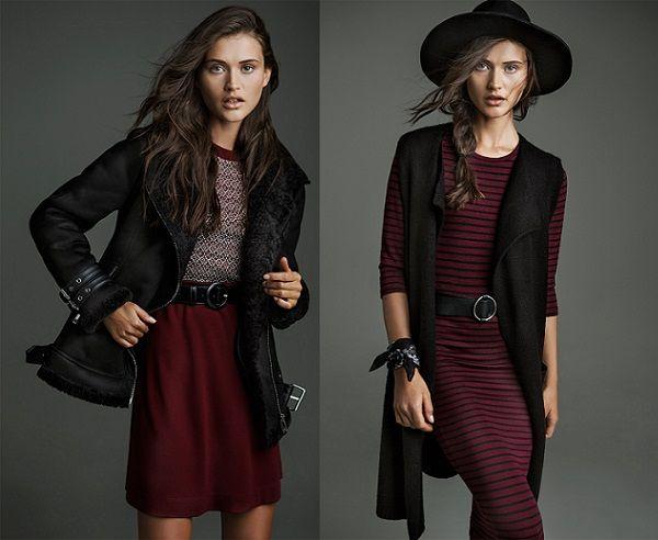 Stradivarius vestidos otoño invierno 2015 2016 'Wear Dresses' | demujer moda