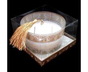 Triple Wick Cherub Votive Candle