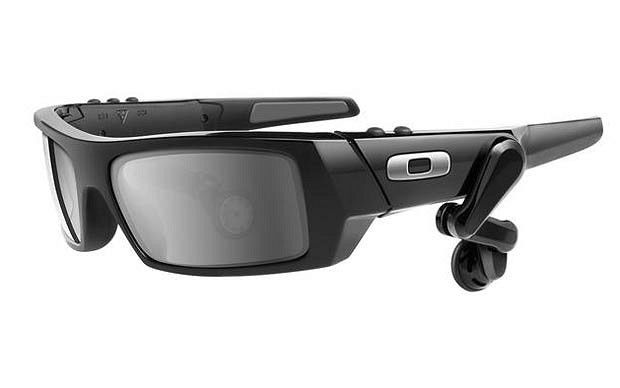 Google Glasses coming soon (by oakley)! - look at anything and it will display information about it, as well as tell you through the earpiece! nerdy but cool!
