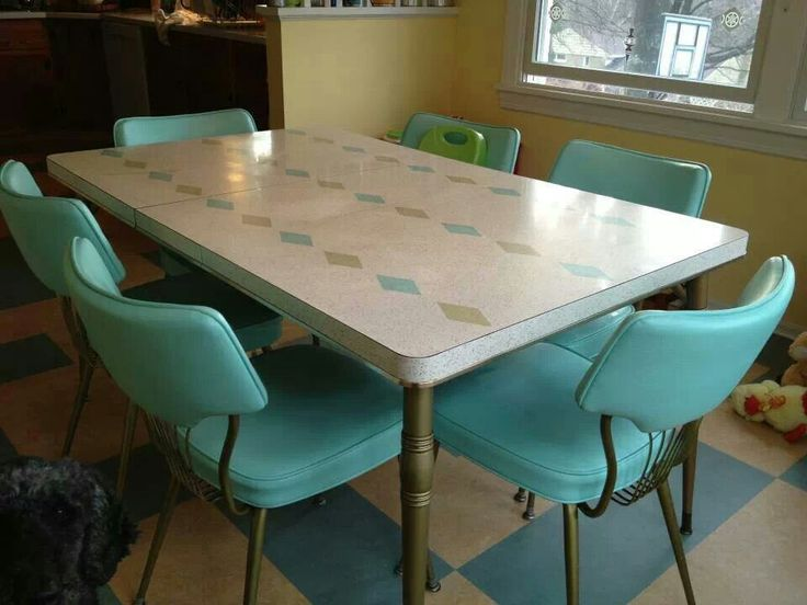 217 vintage dinette sets in reader kitchens - Retro Renovation : vintage table set - Pezcame.Com