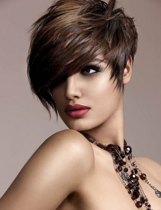 Sexy Short Hairstyles find this pin and more on sexy short hair styles by judithdcollins Find This Pin And More On Hairshort Sassy Edgy Cuts And Color By Jodydiazbarker