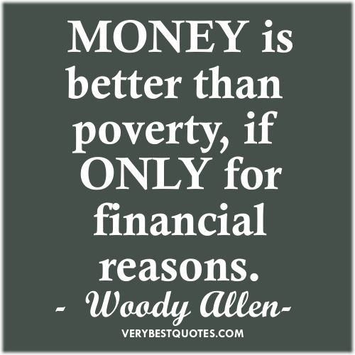Quotes About Love: Funny Woody Allen Quote On #Money! Happy Friday Everyone