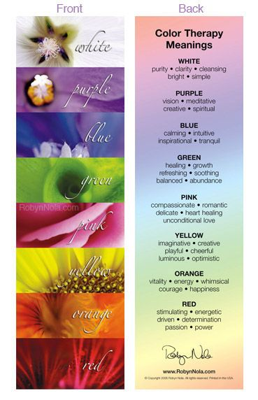 Color Therapy Bookmark