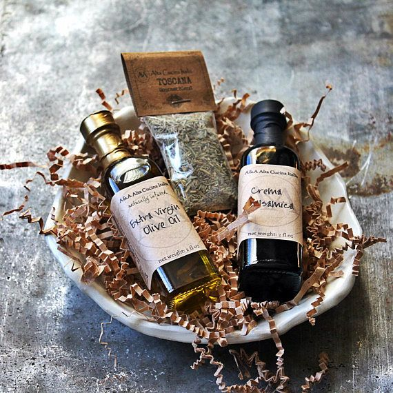 Olive Oil & Balsamic Gift Set Oil and Vinegar Dipping Set