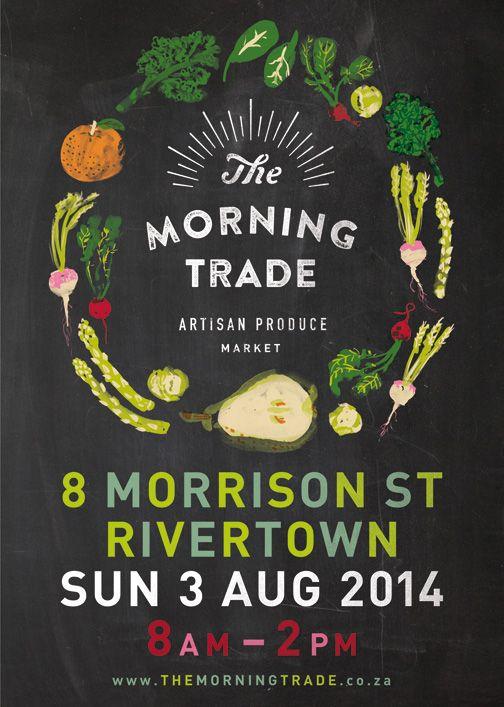 The Morning Trade Artisan Market begins trading on Sunday, 3 August 2014!  We are very excited!   #themorningtradedurban #durban #organicfood #artisanfood #rivertowndbn
