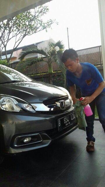 With Honda and Big Glow Waterless