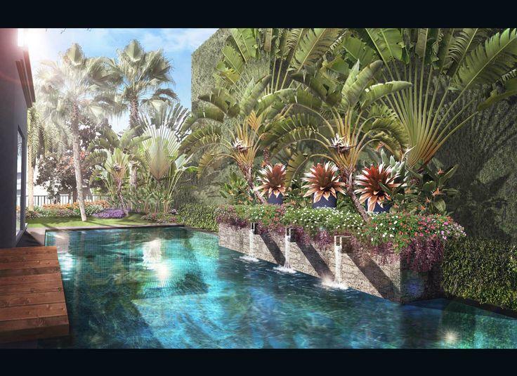 Landscape Illustration | Jakarta - Indonesia | 2013 Design by Kubudaun