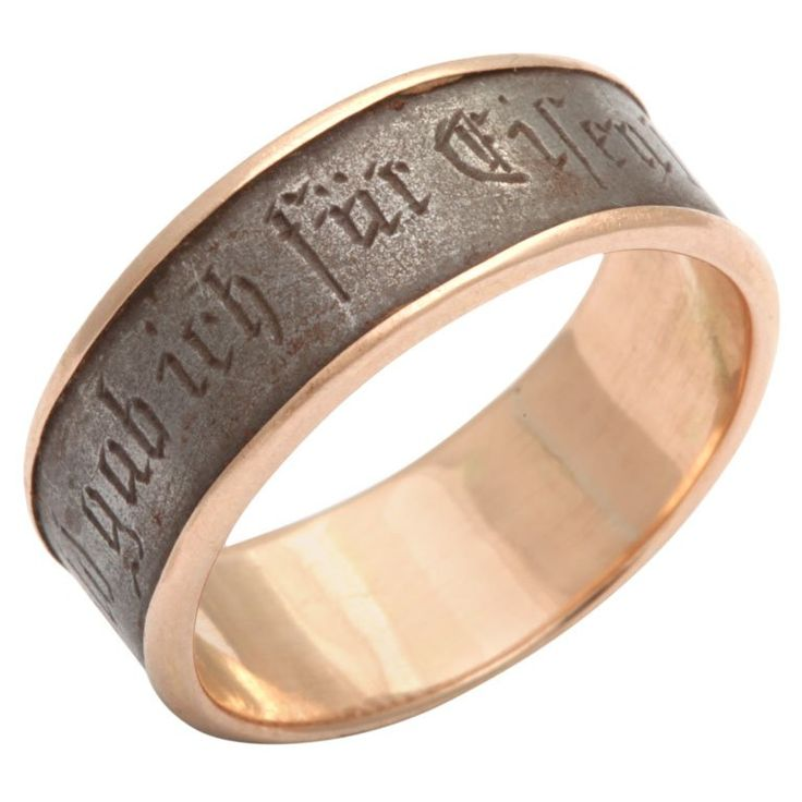 Berlin Iron Ring 1914 - I Gave Gold for Iron