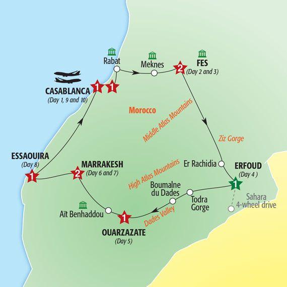 Best of Morocco June 6,13, 20