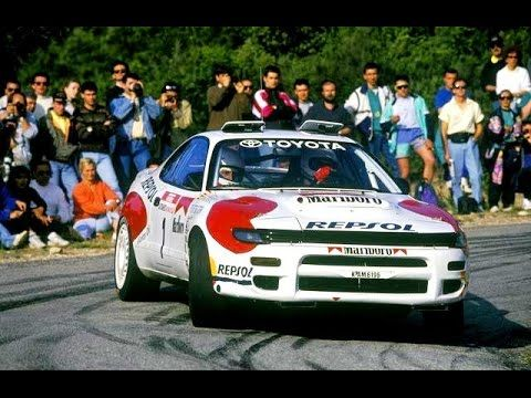 """WRC Rally """"Group A"""" Cars on Tarmac (Speed & Pure Engine Sound) [HD]"""