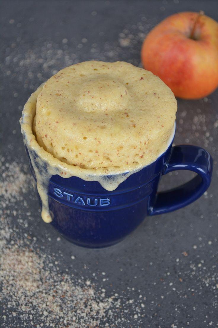 Amaretto Apfel Tassenkuchen