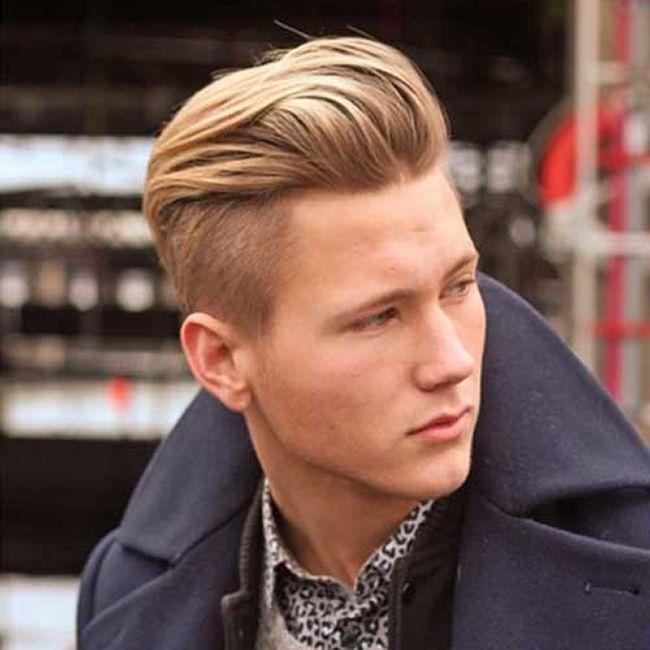 17 meilleures id es propos de coupe undercut homme sur pinterest coupes de cheveux pour hommes - Meche blonde homme cheveux court ...
