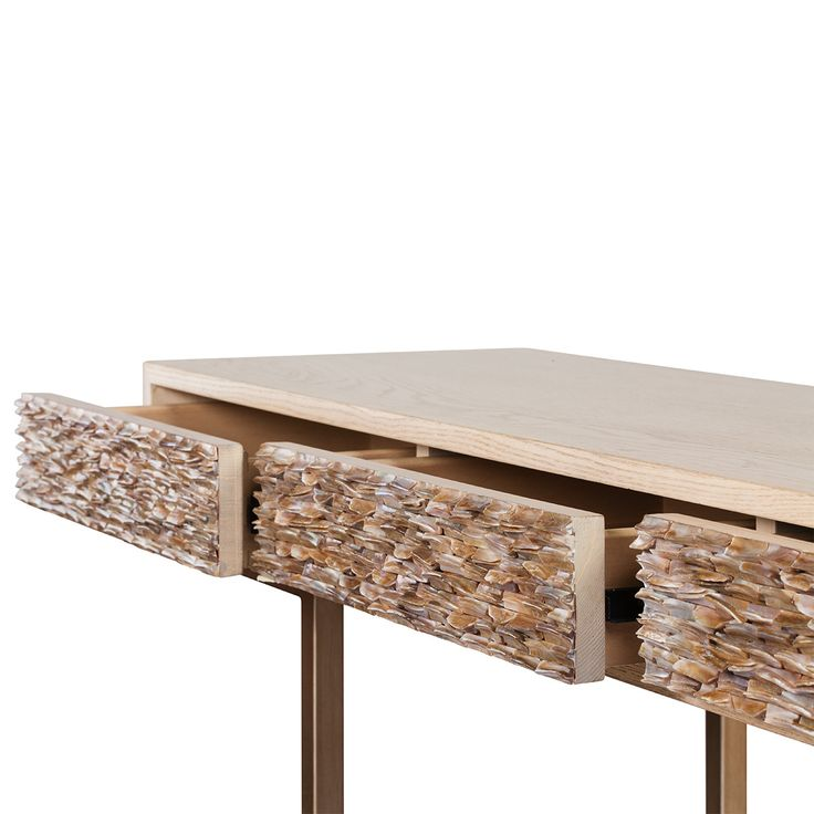 Manhattan Four Shell Drawers Console - Max Sparrow