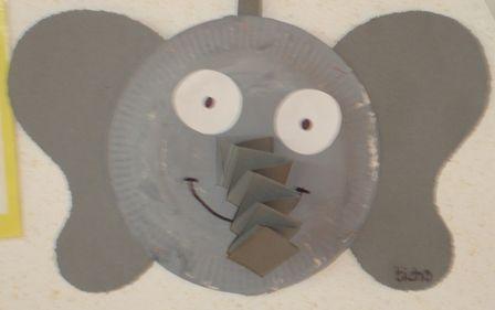 25 beste idee n over olifant knutselen op pinterest dierentuin knutselen kleuterschool - Trophy olifant kartonnen ...