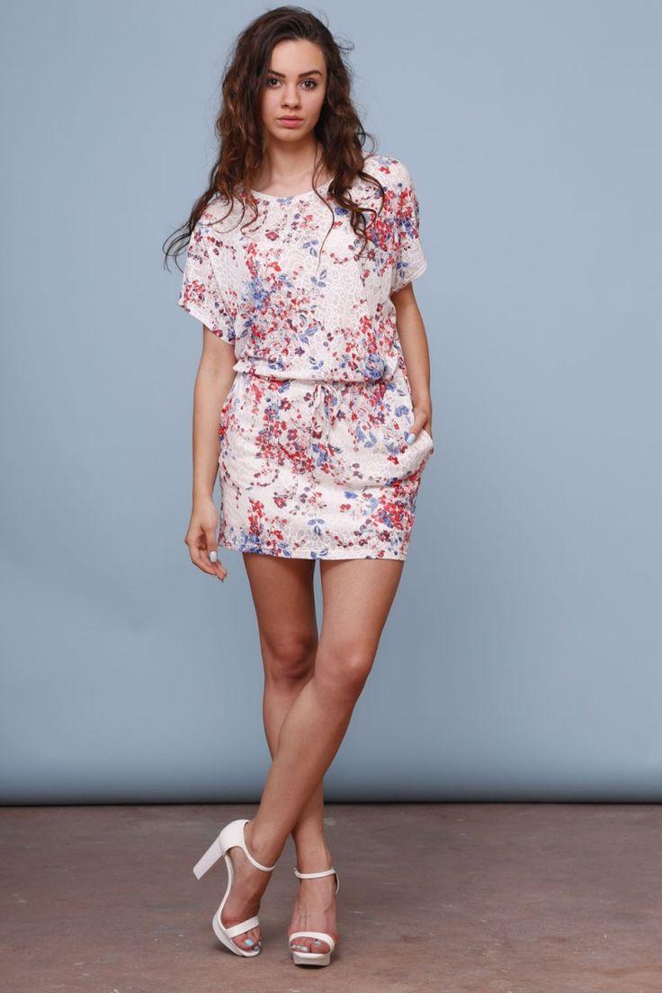 Sukienka w formie kimona 2 - SM-4304
