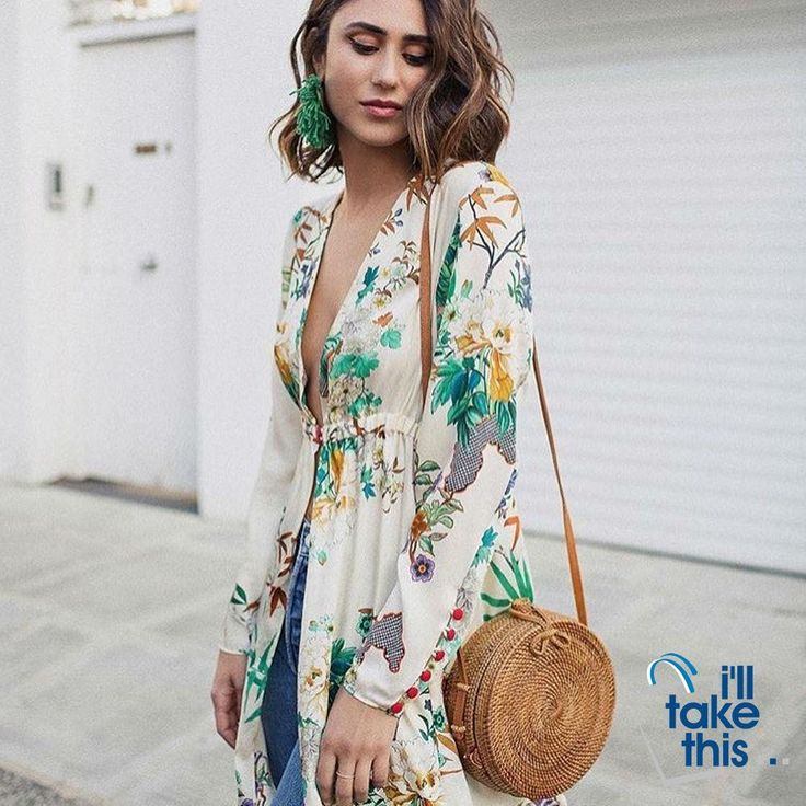 Bohemian Circular Beach Bag Hand Woven Straw + Round Butterfly Rattan buckle with real leather strap