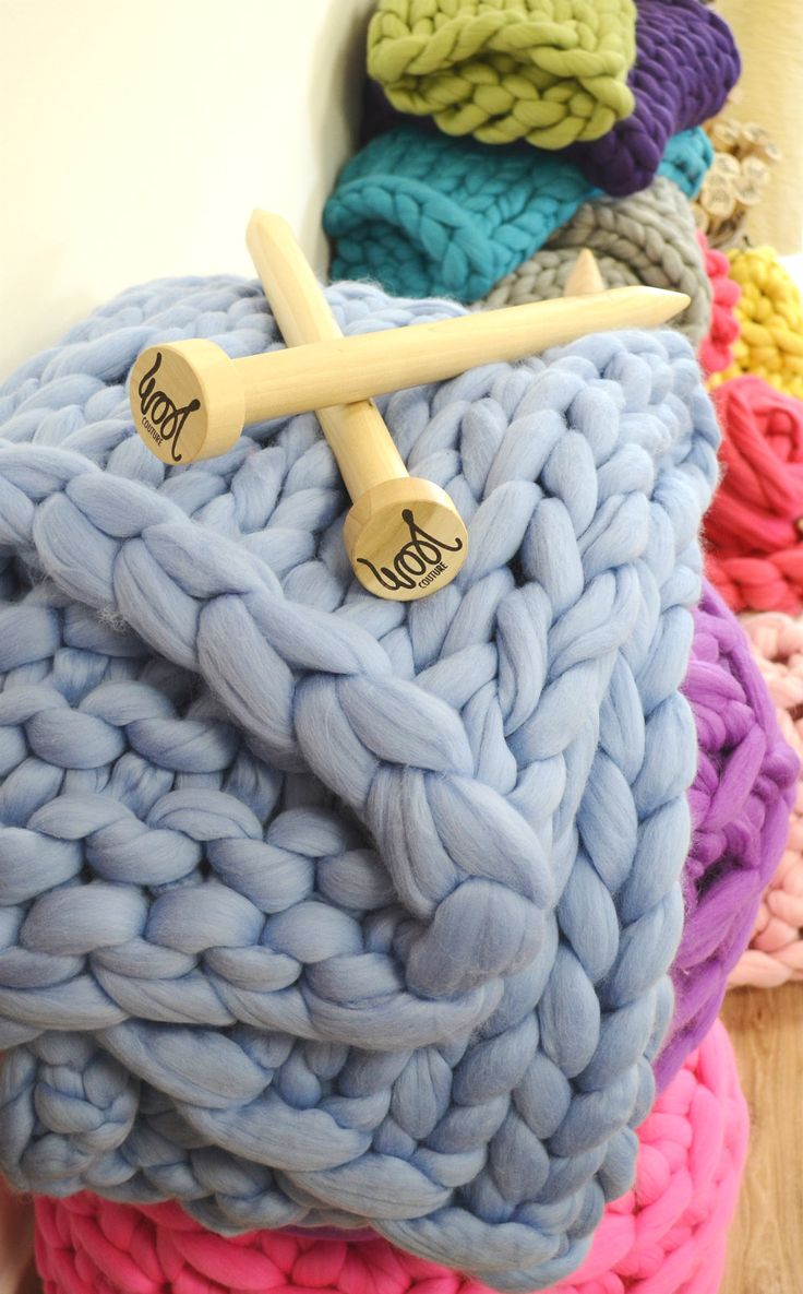 34 best giant knitting images on pinterest knitted blankets colourful piles of giant wool knitted and crocheted blankets throws and footstools giant bankloansurffo Images