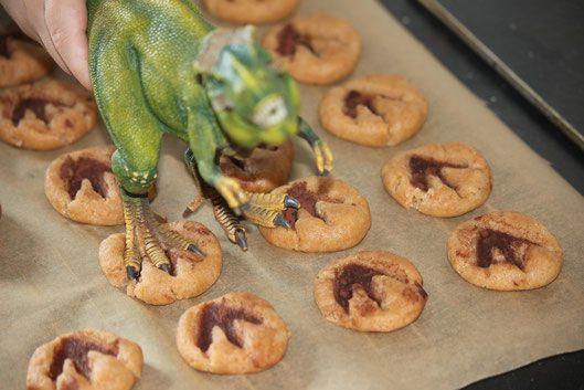 Dinokekse für den Dino Geburtstag backen