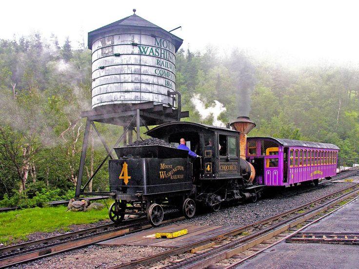 Cog Railway, Mount Washington, New Hampshire