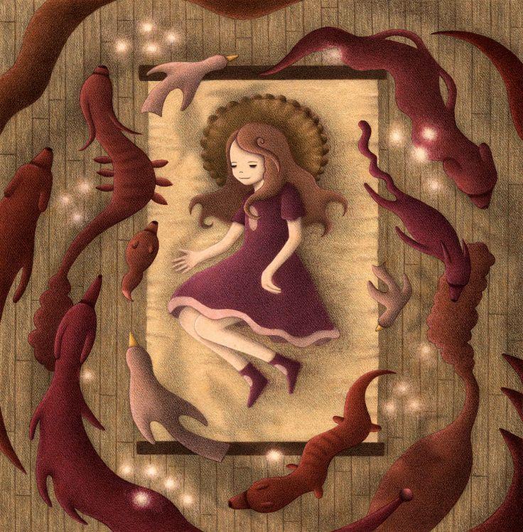 Ashlyn Dreaming - Color Version by o0Amphigory0o on DeviantArt