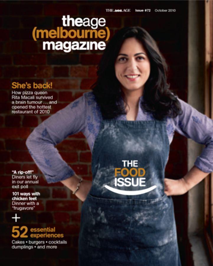 Chef Rita Macali profile by Dani Valent for The Age, the (melbourne) magazine 2010