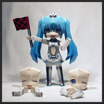 Hatsune miku cowgirl - 2 2