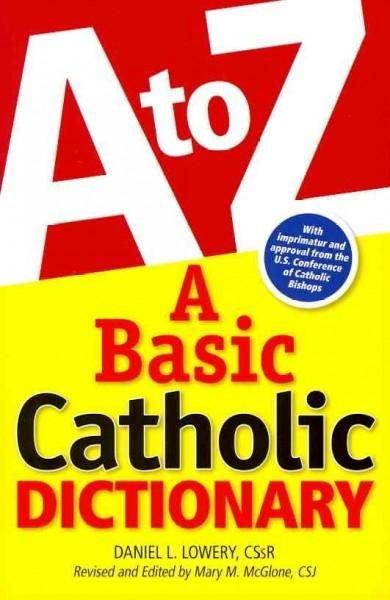 A Basic Catholic Dictionary