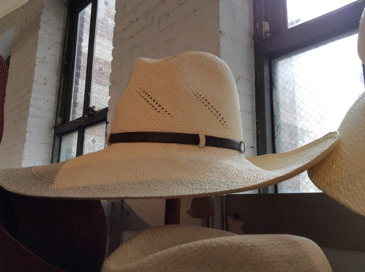 Gingi hat new SS2016 collection at D&A in NYC