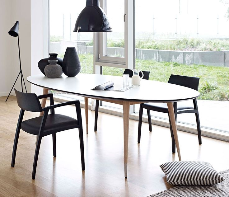 Retro Oval Dining Table
