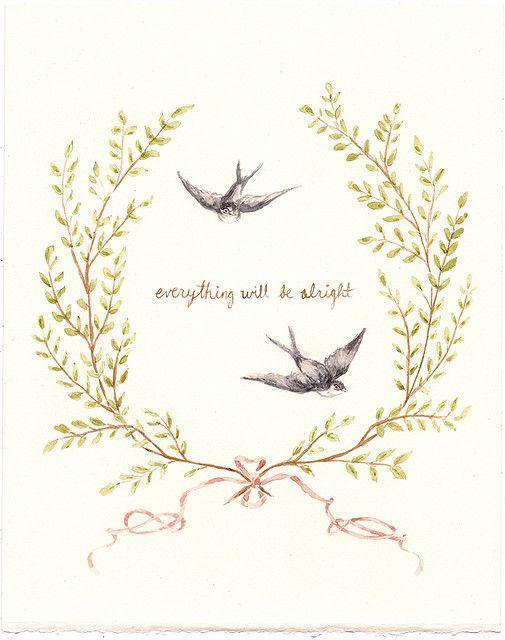 jackie lehmann: Tattoo Ideas, Wall Decor, Quotes, Little Birds, Feet Tattoo, Illustration, Art, Wisdom, Alright