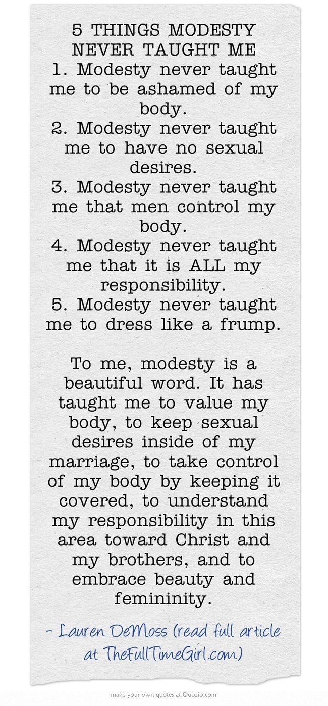 #Modesty Matters | Godliness | Ambassador of Christ | Simply Elegant | simplyele… – inspirational quotes
