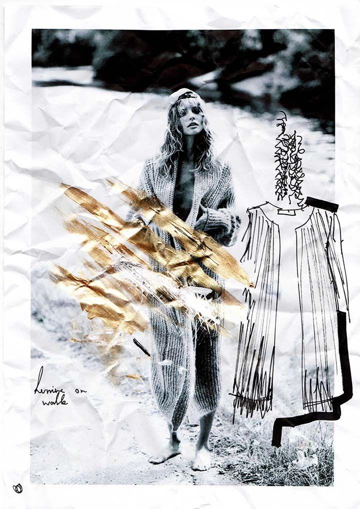 Hol dir Inspiration zu Style Ideen für Strickkleider und erfahre zusätzlich wie du Ideen für deine eigenen Modecolllagen bekommst!