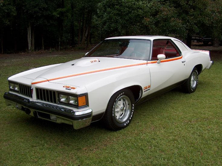 1977 Pontiac Can Am with factory sunroof