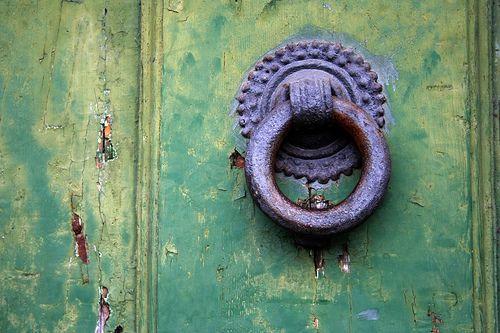 Doorknob, Florence by Richard Carter, via Flickr