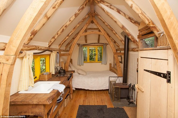 The Eco friendly 100 a night Cottages On Wheels Red