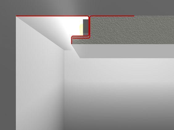 SNL LED Putzprofil / LED Profil