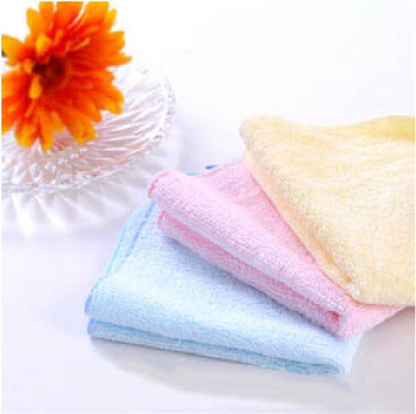 Free Shipping baby Soft Bath Towel, Washcloth Wipe handkerchief, bamboo Terry Kerchief 20X20cm  3pcs/lot #Affiliate