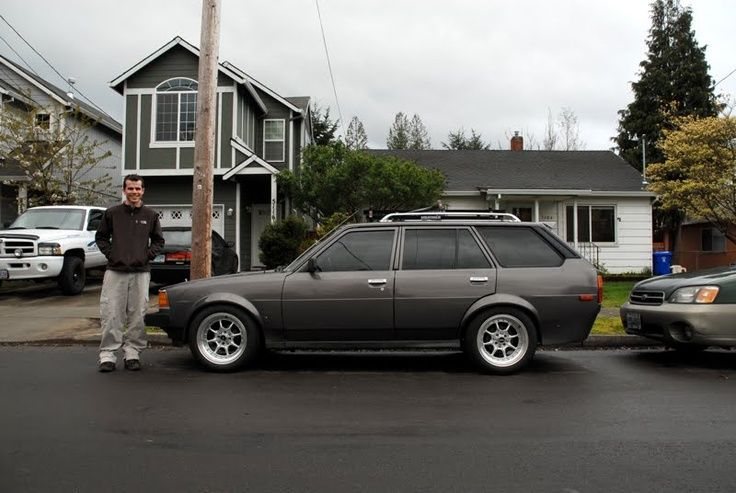 Old Parked Cars.: One-of-a-Kind 1982 Toyota Corolla Wagon and ...