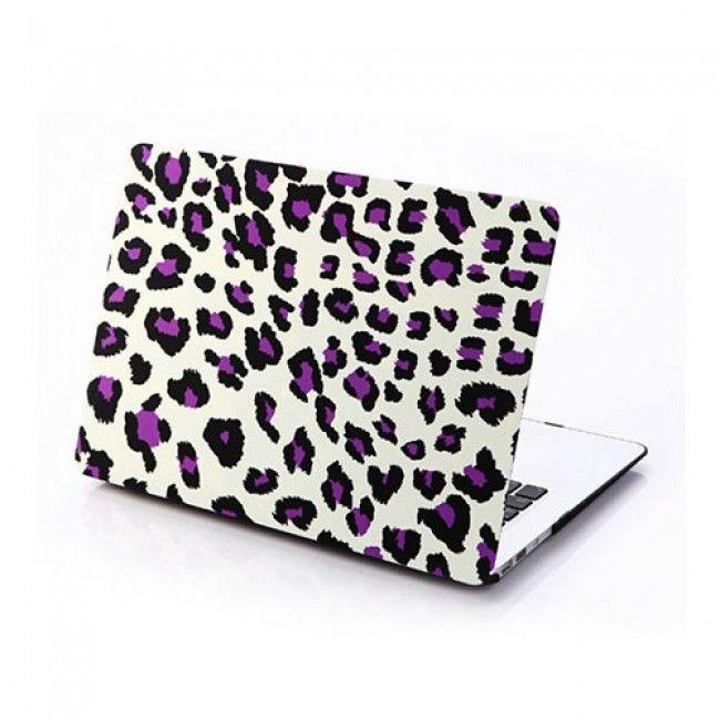 Leopard (Valkoinen) Macbook Air 13.3 Suojakuori - http://lux-case.fi/macbook-suojakotelot.html