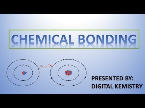 importance of chemical bonding in chemistry