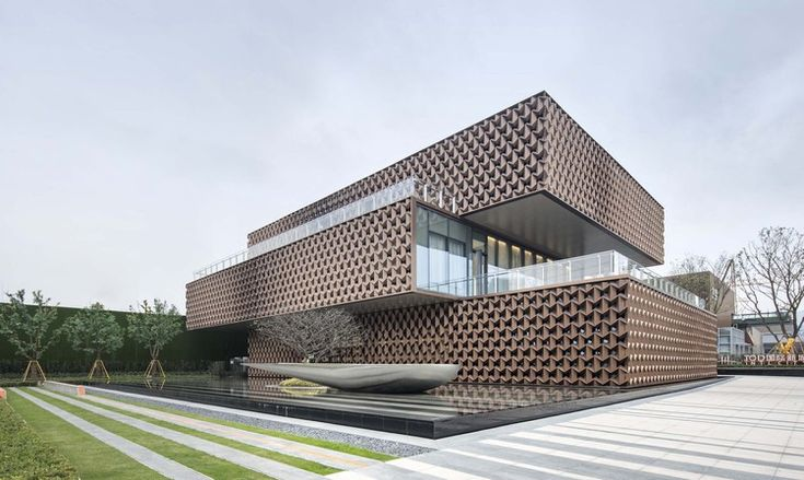 Gallery of The Sales Center in Wenzhou TOD New Town / NAN Architects – 1