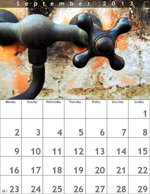 September, via Flickr.