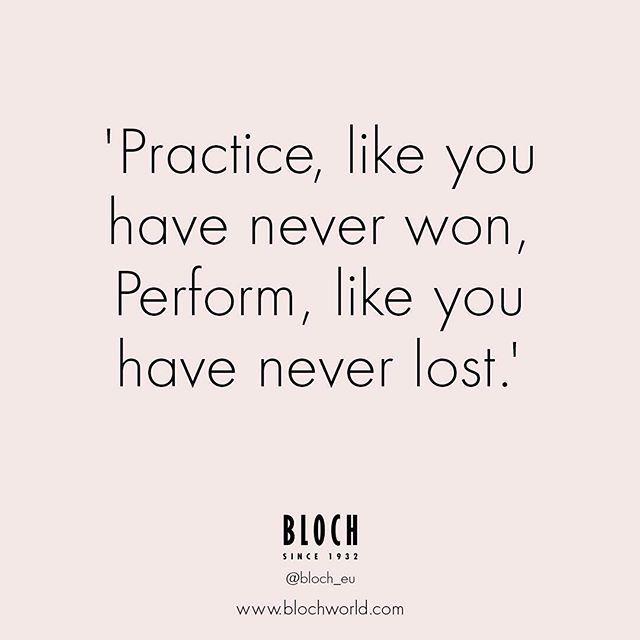 Remember that practice makes perfect! #Blocheu #DanceQuote #ballet