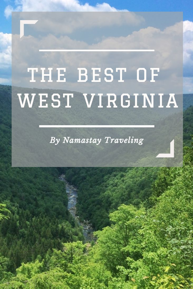 The tops things to do and see in West Virginia! Plus tips on how to visit Blackwater Falls State Park and where to go in Davis, West Virginia.