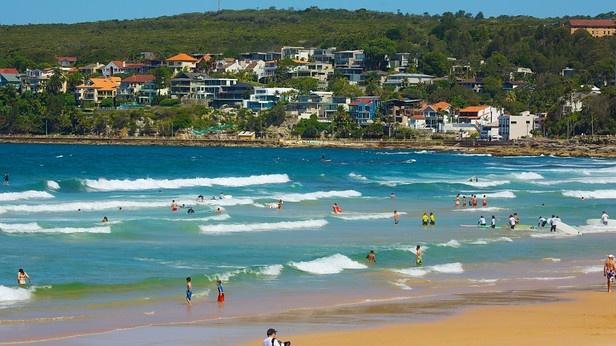 Australia's most famous beach, Bondi Beach