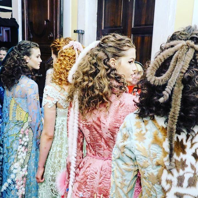 The Fairy-Tale Curls at Fendi Are Our Summer Hair Obsession