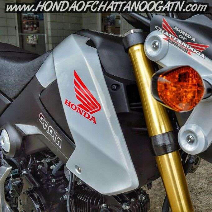 White Honda Grom For Sale - Chattanooga TN / Atlanta & North GA area Motorcycle & PowerSports Dealer. 2015 Honda Sport Bike Models / Lineup at Honda of Chattanooga www.HondaofChattanoogaTN.com